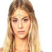 Leoy88 1pc Bohemia Head Chain Headpiece Gift for Women