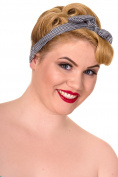 Banned Brazen Headband - Blue/White / One Size