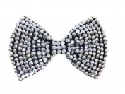 Sequin Bow Brooch Pin Hair Clip :SP4