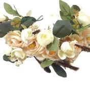 Bridal Flower Crown Wedding Headband