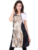 WM BEAUTY Salon Barber Hairdresser Hairdressing Hair Cutting Leopord Apron