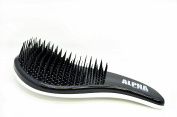 DETANGLING BRUSH BEST ULTIMATE HAIR BRUSH SOLUTION by ALPHA NEW YORK SILVER