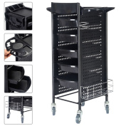 Cnlinkco Beauty Salon Station Trolley Equipment Rolling Storage Cart