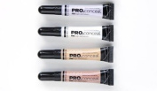 L.A. Girl Pro Conceal Set Lavender, Peach, Light Yellow Correctors and Highlighter