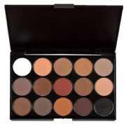 Gillberry 15 Colours Women Cosmetic Makeup Neutral Nudes Warm Eyeshadow Palette