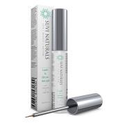 Suvi Naturals Lash & Eyebrow Serum (5mL / 0.17 oz.) – Achieve Luscious Length and Thicker, Fuller Growth – Natural Formula with Vitamin E & Arginine
