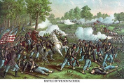 "Buyenlarge 0-587-23276-5-P1218 ""Battle of Wilson's Creek or The Battle of Oak Hills"" Paper Poster, 30cm x 46cm"