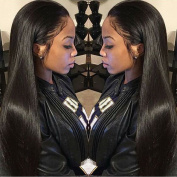 Brazilian Straight Hair 3 Bundles Grade 7A Unprocessed Virgin Human Hair Weave Extensions Natural Colour Length