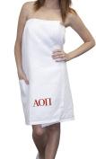 KYS Alpha Omicron Pi Waffle Towel Wrap