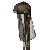 Titan Classic Satin Durag Cap - Brown #11191