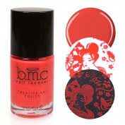 BMC Bright and Festive Creative Art Stamping Polish Set - Weekend Warrior, Rose Garden