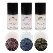 BMC Shimmery Creative Nail Art Shimmery Stamping Polish - Moonbeams Collection
