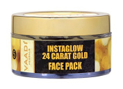 Herbal Face Pack Cream - All Natural - Paraban Free - Sulphate Free - Good for All Skin Types (Oily, Dry, Normal, Sensitive) - 70mls - Premium Quality - Vaadi Herbals
