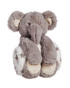Cuddly Elephant Stuffed Animal Blanket Gift Set