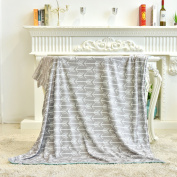 Towin Baby Double Layer Minky Throw Blanket/Bed Blanket/Couch Blanket,Mint 50x60
