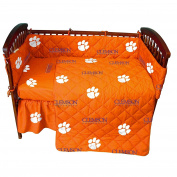 College Covers Clemson Tigers Baby Crib Pair of Solid Fitted Sheet