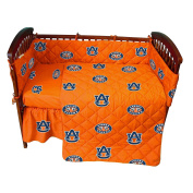 College Covers Auburn Tigers Baby Crib Fitted Pair of Solid Sheet Pair