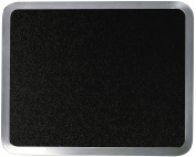 Vance Surface Saver 30cm x 38cm Built-in Tempered Glass Cutting Board, Black