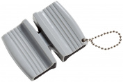 Mercer Culinary M15940 Keychain Dual Sharpener, Plastic, Grey