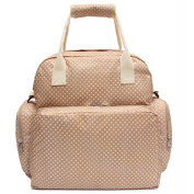 Minch LD13 Best Baby Fashionable Polka Dot Nappy Bags Backpack Designer for Girls Dads Twins Mom-Changing Pad
