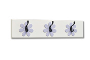 Flower Wall Hook Board, lavender