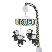 Baby Safari Monkey Musical Mobile