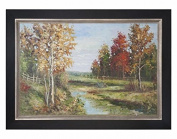 Country Creek Landscape Art