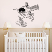 Wall Decal Vinyl Sticker Garry Potter Story Kids Quote Castle Nursery Gift a148