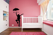Wall Decal Vinyl Sticker dorm Peter Pan Never Land Kids Children Story a139