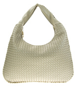 Canal Collection Classic PVC Leather Woven Hobo Bag