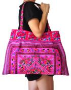 Hmong Embroidered Tote Bag Hobo bag Hippie bag Handbags Purse Tote bag Boho bag Women bag Thai Cotton Bag