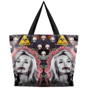 THENICE Women's Halloween Designs Print Handbags Shoulder Bags