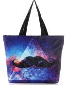 THENICE Women's Fashion Designs Galaxy Print Handbags Shoulder Bags