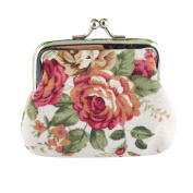 Elegant Purse, HN Women Lady Retro Vintage Flower Small Wallet