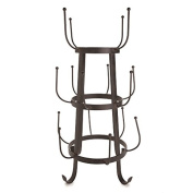 Marketplace Rustic Iron Drinkware Holder by Twine