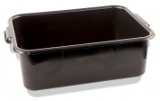 Crestware BT7BK Heavy-Weight Bus Tub, 18cm , Black