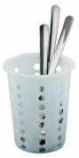 Alegacy 80104 Restaurant Style Plastic Flatware Cylinder, 13cm by 11cm , White