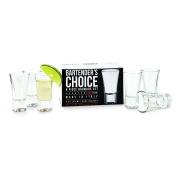 Amici Bartender's Choice Jigger Shot Glass, 60ml - Set of 6