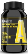 ALPHADROX Workout Amplifier - Increase Muscle Mass, Cut Recovery Time, EXPLOSIVE Workouts! Maximum Potency for Maximum Results!