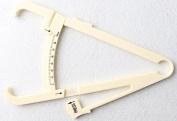 Dealglad Personal Body Fat Fitness Calliper Tester Analyzer Monitor Tester & Measure Chart Keep Health Slim