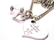 I'M Bilingual Two Languages In One Heart 46cm Pendent Necklace