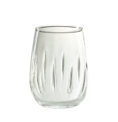 Amici Stemless Aerating Wine Glass, 500ml - Set of 4