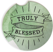 Angelstar 13476 Truly Blessed Auto Coaster, Multicolor