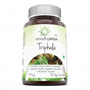 Amazing India Triphala 500 Mg 120 Vegetarian Capsules