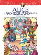 Creative Haven Alice in Wonderland Designs Coloring Book