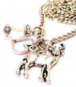 Adorable Deer Buck 46cm Pendent Necklace