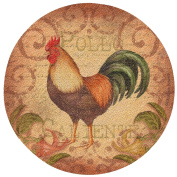 Thirstystone Caliente Rooster Cork Coaster Set