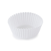SafePro 5.5BCP, 14cm White Paper Baking Cups, Best Quality Standard Size White Cupcake Paper Liners