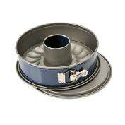 "Kaiser 752099 ""Engergy"" Springform Pan, 26cm , 2 Bases , Blue/Grey"