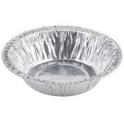 13cm Disposable Aluminium Foil Tart / Pie Pan 3.2cm Deep -